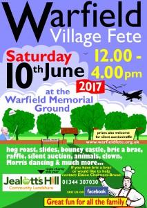 Warfield Fete Poster 2017