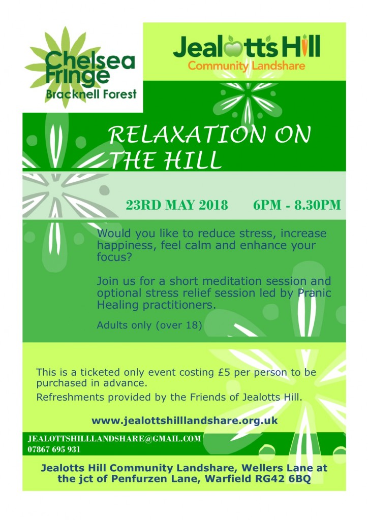 Relaxation on the Hill flyer 23.05.18 jpg